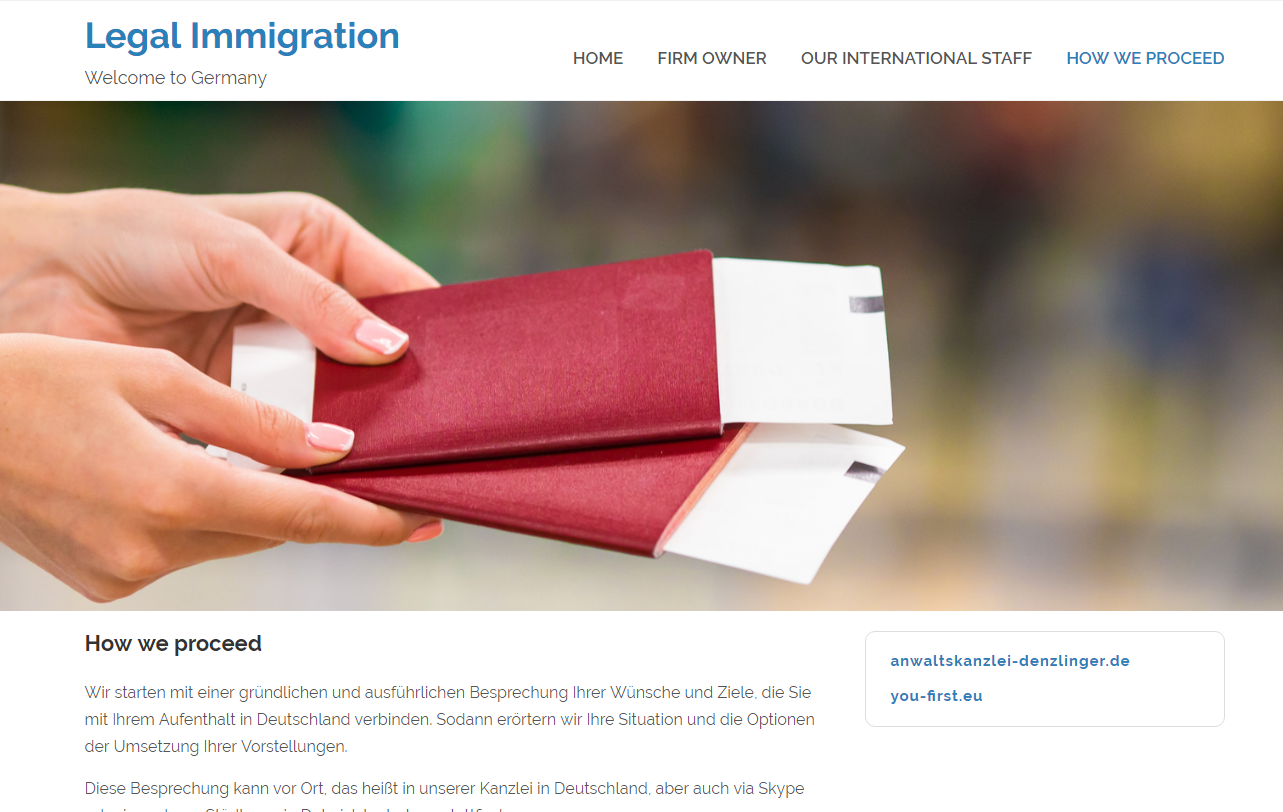 Legal Immigration Proceed