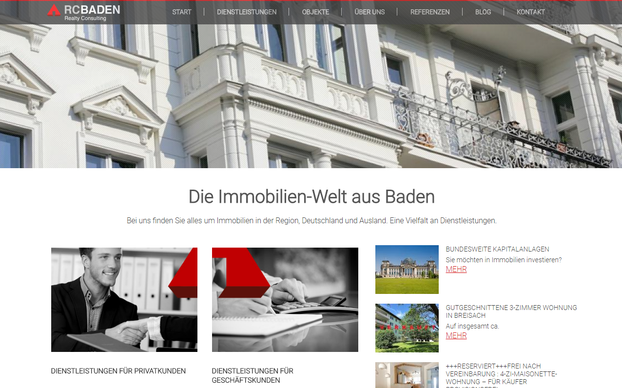 RC BADEN Homepage