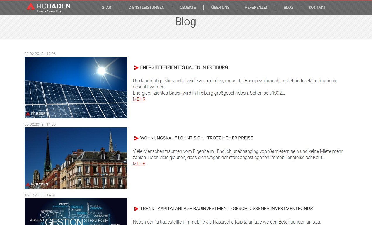 RC BADEN Blog